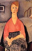 Pink Blouse, 1919, modigliani