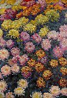 Bed of Chrysanthemums, 1897, monet