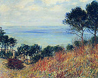 The Coast of Varengeville, 1882, monet