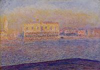 The Doges- Palace Seen from San Giorgio Maggiore, Venice, 1908, monet