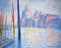 The Grand Canal 02, 1908, monet