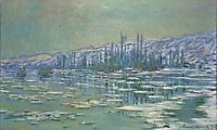 Ice Floes on Siene, 1880, monet