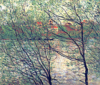 The Isle Grande-Jatte, 1878, monet