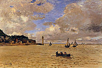 Lighthouse at the Hospice, 1864, monet