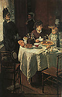 The Luncheon, 1868, monet