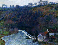 The Mill at Vervy, 1889, monet