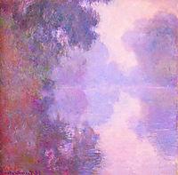 Misty Morning on the Seine, 1897, monet