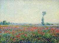 Poppy Field, 1881, monet