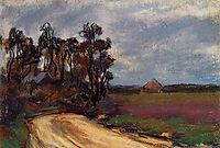 The Road and the House, monet