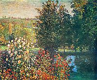 Roses in the Hoshede`s Garden at Montregon, monet