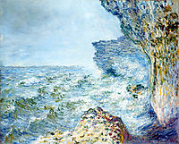 The Sea at Fecamp, 1881, monet