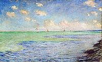 The Sea at Pourville, 1882, monet