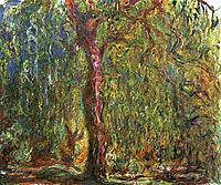 Weeping Willow, 1919, monet