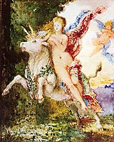 Europa and the Bull, 1869, moreau