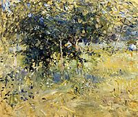 Willows in the Garden at Bougival, 1884, morisot