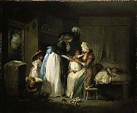Visit to the Child at Nurse, 1788, morland