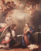 Annunciation, 1660-1665, murillo