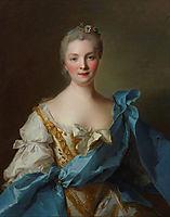 Madame de La Porte, 1754, nattier