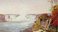 View of Both Falls of Niagara, 1871, north