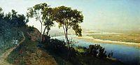 Vicinity of Kiev. Over the Dnieper., 1884, orlovsky