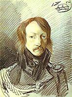 Portrait of A. P. Lanskoy, 1813, orlowski
