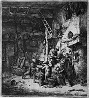 The Family, 1647, ostadeadriaen