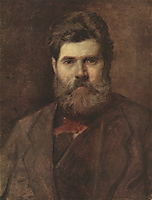 Portrait of the Sculptor Vladimir Brovsky, perov
