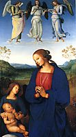 The Virgin and Child with an Angel , c.1499, perugino