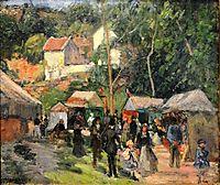 Festival at the Hermitage, 1876, pissarro