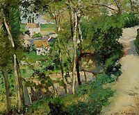 The Rising Path, Pontoise, 1875, pissarro