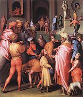 Joseph Being Sold to Potiphar, pontormo