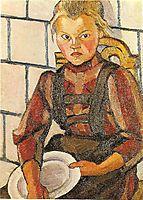 Portrait of the Artist-s Sister, 1909, popova