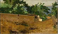 Caminho - Capri, 1882, pousao