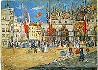 St. Mark-s, Venice, 1898, prendergast