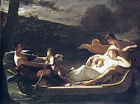 The dream of happiness, 1819, prudhon