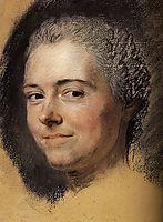 Study for portrait of Mademoiselle Dangeville, quentindelatour