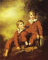 Portrait of the Binning Children, c.1811, raeburn