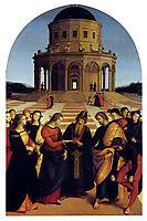 The Marriage of the Virgin, 1504, raphael