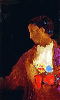 The Doge-s Wife, c.1900, redon