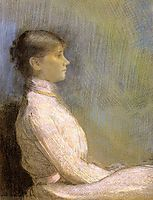Portrait of Paule Gobillard, 1900, redon