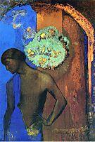 Saint John (The blue tunic), 1892, redon