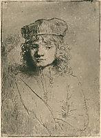 The artist`s son Titus, rembrandt
