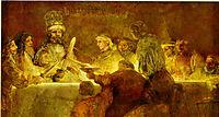 The Conspiracy of Claudius Civilis, 1662, rembrandt