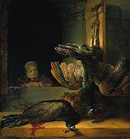Dead peacocks, 1639, rembrandt