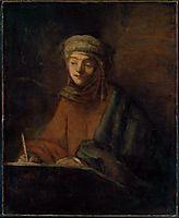Evangelist Writing, rembrandt