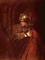 A Man in Armour, 1655, rembrandt