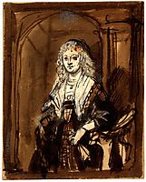 Maria Trip, 1639, rembrandt