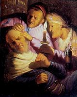 The Operation (Touch), 1624-1625, rembrandt
