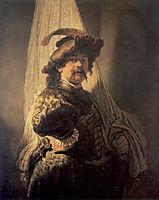 The Standard-Bearer, 1636, rembrandt