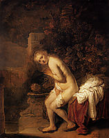 Susanna and the Elders, 1634, rembrandt